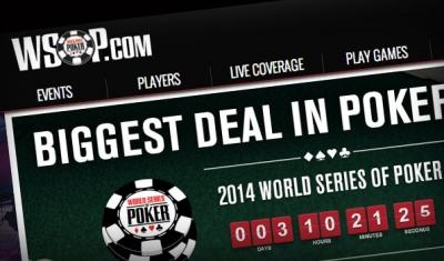 WSOP online poker and laptops series