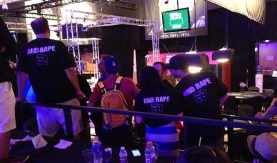 Iffy slogan demonstrated via t-shirts at WSOP