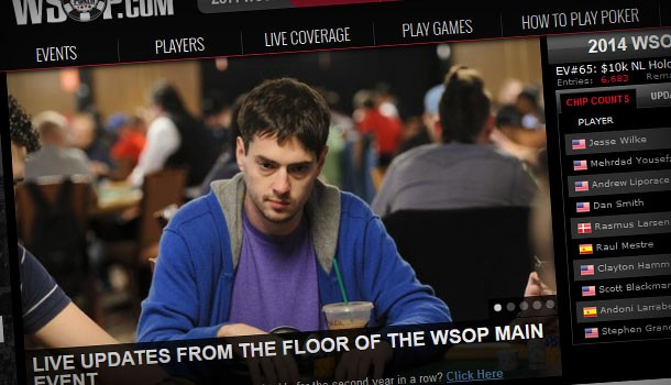 As Main Event rolls on, WSOP.com has increased popularity in the online poker market greatly