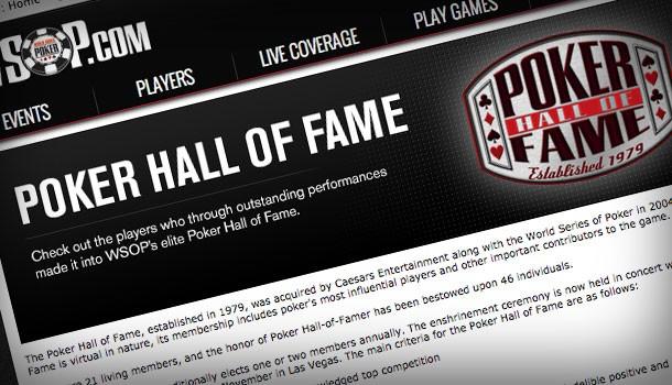 Steve's Picks for Poker Hall of Fame 2014