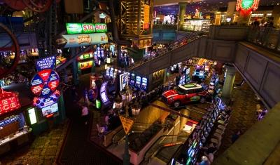 Nevada gambling revenue Jan 2017