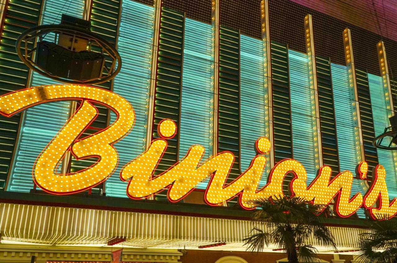 Binions casino entrance