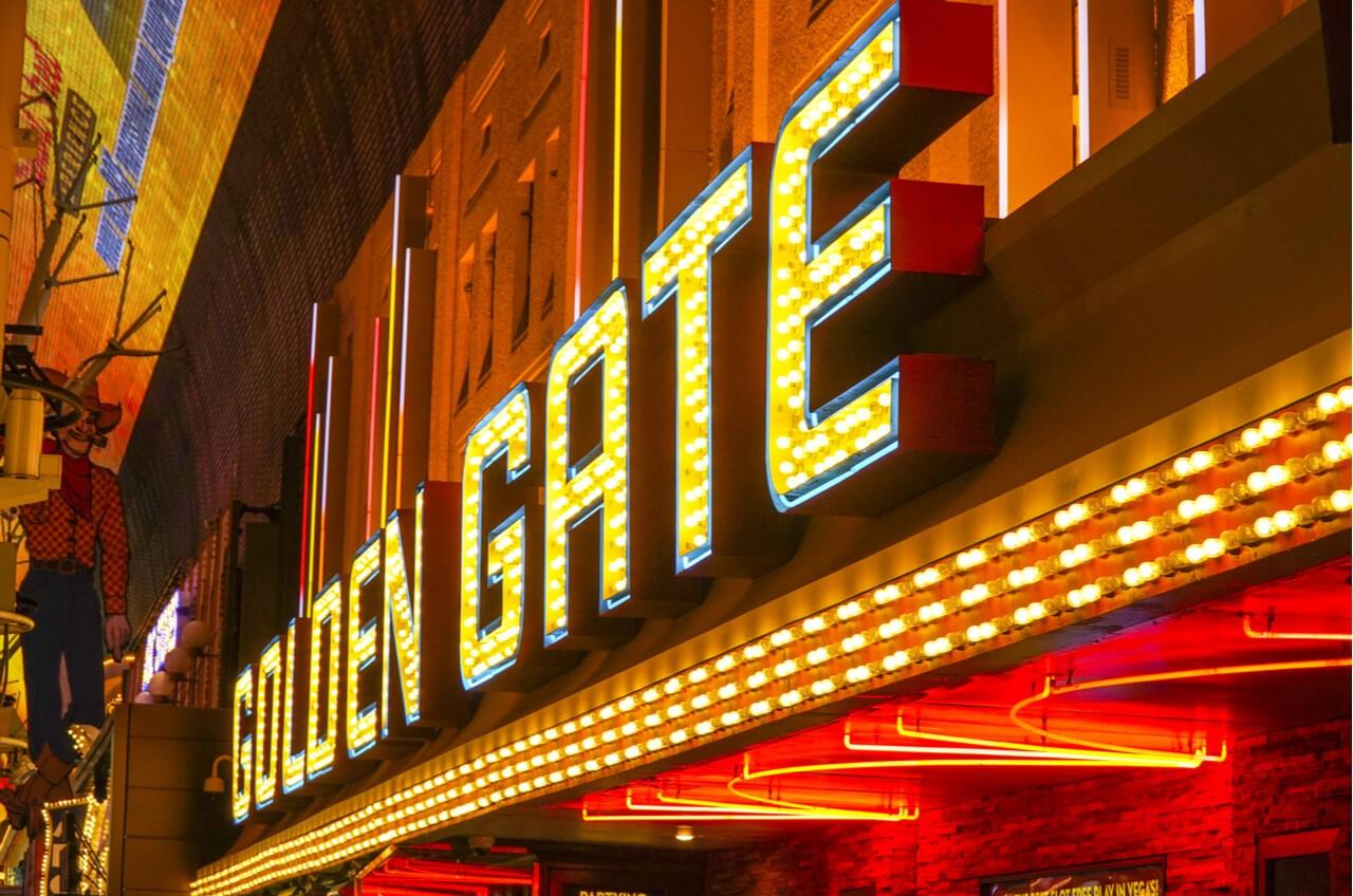 Golden Gate Casino sign