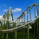 Green roller coaster