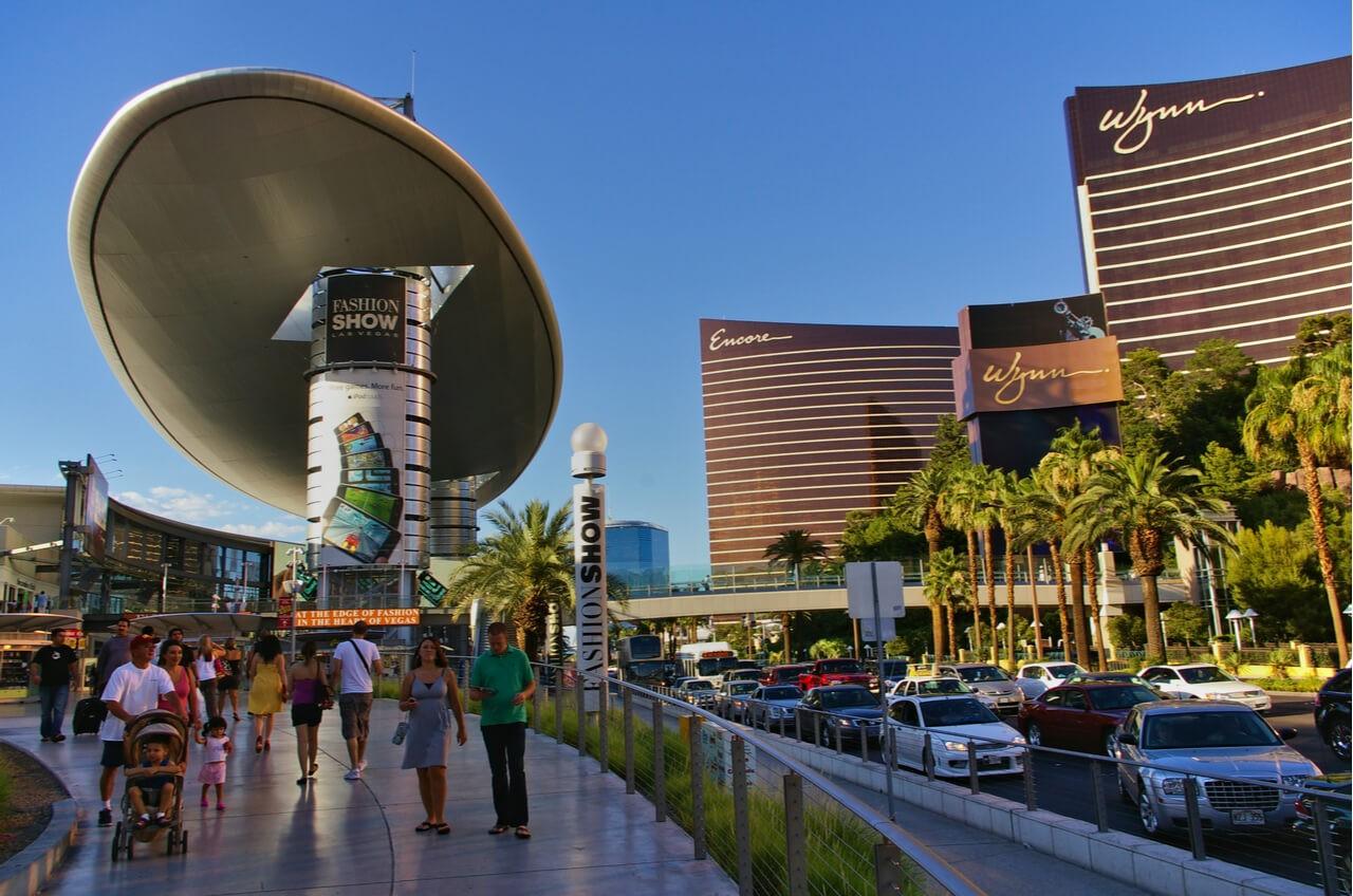 Fashion Show mall and Wynn Casino