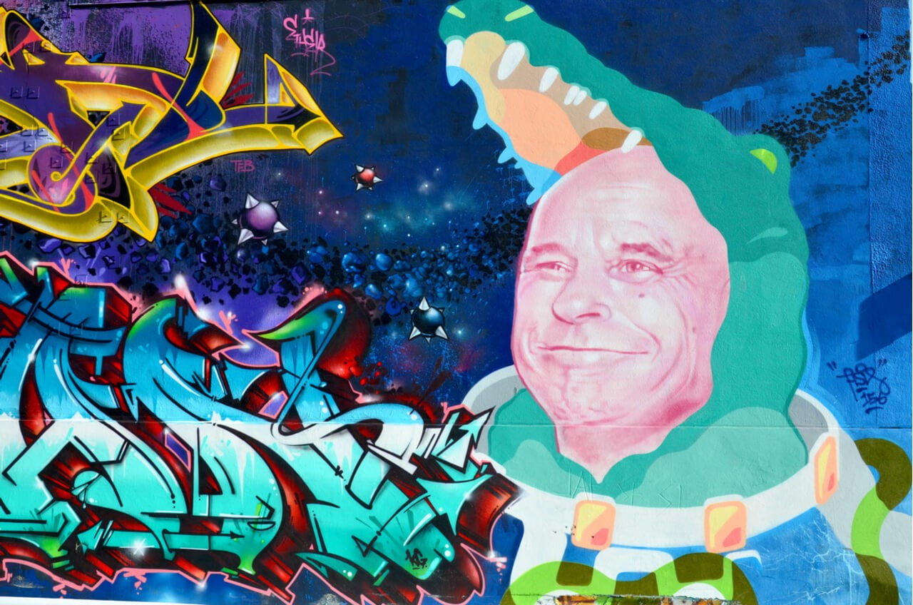 Wall art mural Montreal
