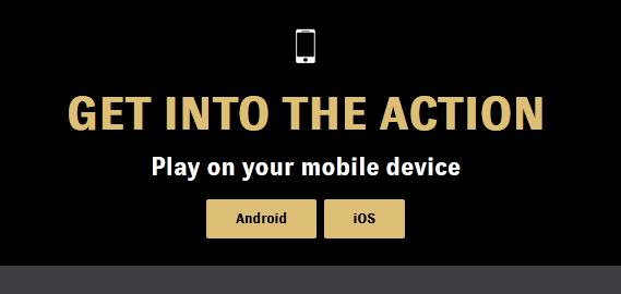 BetMGM app screenshot